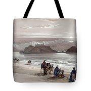 Isle Of Graia Gulf Of Akabah Arabia Petraea Feby 27th 1839 Tote Bag