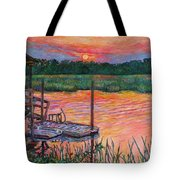 Isle Of Palms Sunset Tote Bag