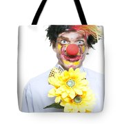 Isolated Clown In A Funny Summer Romance Tote Bag