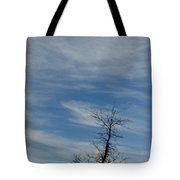 Isolated In The Blue Tote Bag
