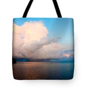 Isolated Isolated Shower Tote Bag