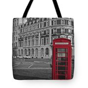 Isolated Phone Box Tote Bag