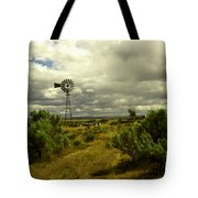 Isolated Windmill Tote Bag
