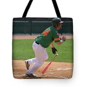 Isotopes Batter Takes Off Tote Bag