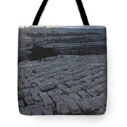 Israel, Jerusalem Mount Of Olives Tote Bag