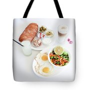 Israeli Breakfast Tote Bag