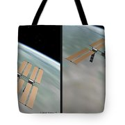 Iss - Gently Cross Your Eyes And Focus On The Middle Image Tote Bag