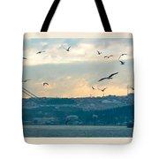 Istanbul, Morning Tote Bag