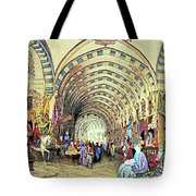 Istanbul Old Market Tote Bag
