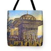 Istanbul Outdoor Bazaar Tote Bag