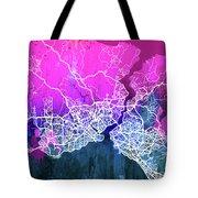 Istanbul Watercolor Tote Bag