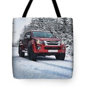 Isuzu In The Snow Tote Bag