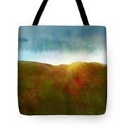 It Began To Dawn Tote Bag by Antonio Romero