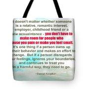 It Doesn't Matter Tote Bag