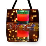 It Feels Like Christmas Tote Bag by Rima Biswas