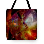 It Is About Time Intersecting Depth Of Heart Tote Bag