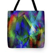 It Is About Time Intersecting Wondrous Cross Tote Bag