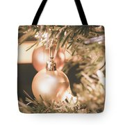 It Is Christmas 3 Tote Bag