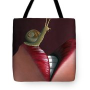 It Started With A Kiss. Tote Bag