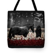 It Was A Dark And Rainy Night Tote Bag