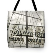 It Was A Dark And Stormy Afternoon Tote Bag