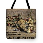 It Wasn't Our Book - Us Army Infantry Tote Bag