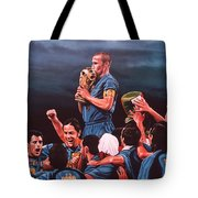 Italia The Blues Tote Bag