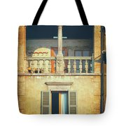 Italian Arched Balcony Tote Bag