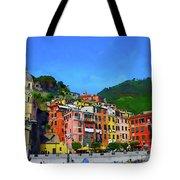 Italian Beachside  Tote Bag