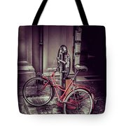 Italian Bike Tote Bag