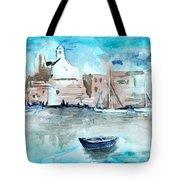 Italian Coast  Tote Bag by Alexandra-Emily Kokova