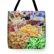 Italian Farmers Market Dried Fruits Tote Bag
