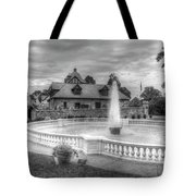 Italian Fountain Maymont B And W Tote Bag