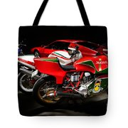 Italian Garage Tote Bag