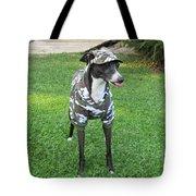 Italian Greyhound Army Tote Bag