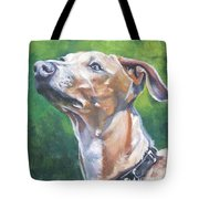 Italian Greyhound Tote Bag by Lee Ann Shepard
