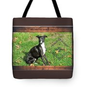 Italian Greyhound Wine Tote Bag