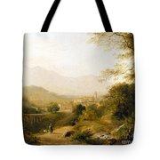 Italian Landscape Tote Bag by Joseph William Allen