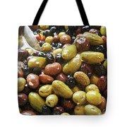 Italian Market Olives Tote Bag