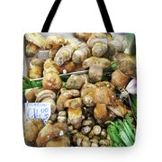 Italian Market Porcini Mushrooms  Tote Bag