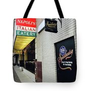 Italian Speakesy Tote Bag