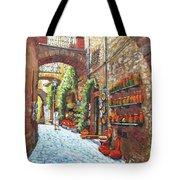 Italian Street Market Tote Bag