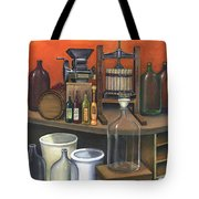 Italian Wine Press Tote Bag