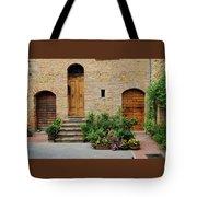 Italy - Door Eight Tote Bag