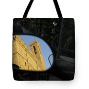 Italy, Florence, Reflection In Mirror Tote Bag