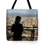 Italy, Florence, Tourist Looks Tote Bag