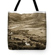 Italy From Above Tote Bag