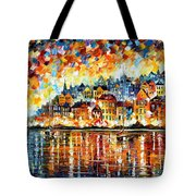 Italy Harbor Tote Bag