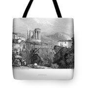 Italy: Tivoli, 1832 Tote Bag