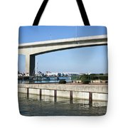 Itchen Bridge Southampton Tote Bag